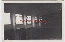 (F6592) Orig. Foto Bau einer großen Werkhalle, Bayern 1934, fertiger Betonguss,