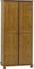 Steens Richmond Solid Pine 2 Door Full Hanging Wardrobe Kingston Range
