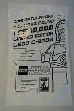 GOLD Chrome Star Wars C-3PO RARE LEGO Giveaway 2007 Mini Fig