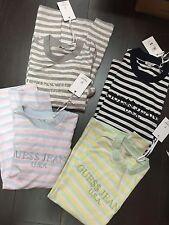 Guess x Asap Rocky David 3 Stripe Crew Shirt Cotton Candy Lemonade Size XS-L