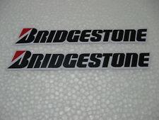 2x Aufkleber Set Sticker Bridgestone Reifen Autotuning Motocross Biker Motorrad