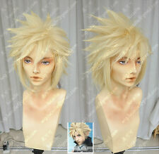 Final Fantasy Final Fantasy 7 Cloud Cloud pale golden Cosplay Wig