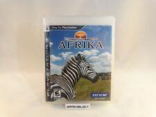 AFRIKA SONY PS3 PLAYSTATION 3 NTSC-U US USA AMERICANO ORIGINALE COMPLETO RARO