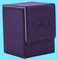 ULTIMATE GUARD XENOSKIN FLIP DECK CASE Standard Size PURPLE 100+ Game Card Box