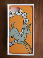 DEER DAISY BAMBI IPHONE 6 ORANGE MOBILE PHONE CASE BY TOPSHOP UNIQUE BRAND NEW
