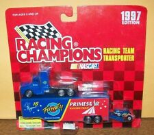 TED MUSGRAVE #16 FAMILY CHANNEL 1997 RACING CHAMPIONS MINI HAULER & CAR