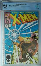 UNCANNY X-MEN #221 CBCS 9.6 1ST APPEARANCE  MR SINISTER awesome silvestri cover