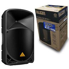 Behringer Eurolive B115W Active PA Speaker w/ Wireless Bluetooth BT 696859053900