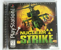 Nuclear Strike (Playstation PSX / PS1)Video Game COMPLETE (1997)