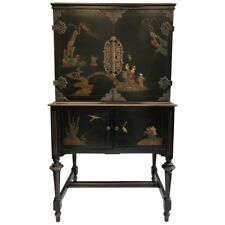 1920s Art Deco Chinese Style American Cabinet
