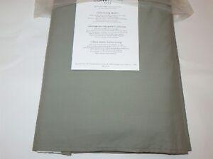 Calvin Klein Winter Olive Green Grey Cal King Tailored Bedskirt NIP $225