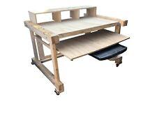 More details for reording studio multimedia desk building plans only.