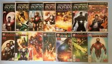 The Invincible Iron Man 14 issue collection between 503 - 527  Marvel VF/NM