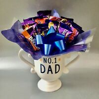 Cadbury Chocolate bouquet Mug Gift Hamper Gifts Dad Grandad Father's Day