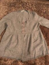 M&S autograph Size 8 Grey Cashmere Top