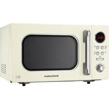 Morphy Richards 511511 Evoke 800 Watt Microwave Free Standing Cream New from AO
