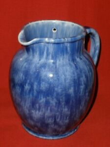 VINTAGE Bakewells N.S.W. BLUE Pottery ELECTRIC JUG Very Good Condition NO LID