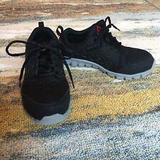 Reebok Steel Alloy Toe Work Sneaker Shoe Men's 5 Women's 7 Oil Slip Resistant