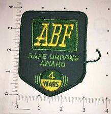 ABF Safe Driving Award Patch - 4 Years