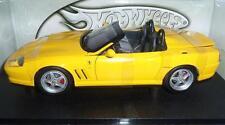 Ferrari 550 Barchetta geel schaal 1:18 Hotwheels NIEUW in doos !