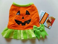 Martha Stewart PETS Fashion Dog Apparel XS Cute Pumpkin Dress NEW with Tags