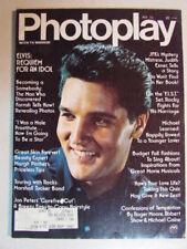 PHOTOPLAY MAGAZINE NOVEMBER 1977 ELVIS PRESLEY FARRAH STALLONE MARSHALL TUCKER