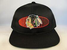 Kids Youth Size Chicago Blackhawks Underbrim Stamped SAMPLE Vintage Snapback Hat