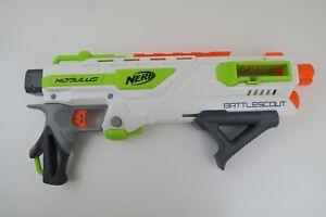 Nerf Modulus Battlescout Blaster Toy Gun White Green Orange