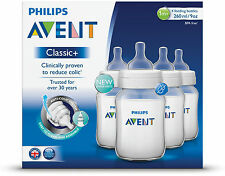 PHILIPS AVENT CLASSIC FEEDING BOTTLE 260ML 4 PACK
