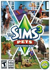 The Sims 3: Pets - Expansion Pack [PC-DVD MAC Computer, Life Simulation] NEW