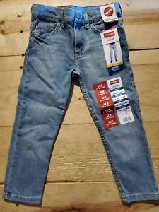 Young Boy's Wrangler five star premium denim regular taper fit adjustable size 4