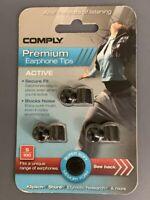 Comply Premium Earphone Tips - Active S-100 Medium 3 Pack