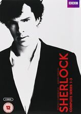 Sherlock: The Complete BBC Series 1 2 & 3 | Benedict Cumberbatch | New | DVD