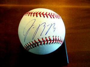 JOSE REYES # 7 BATTING CHAMP NEW YORK METS SS SIGNED AUTO OML BASEBALL TRISTAR