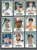 2018 TOPPS GALLERY - WALMART EXCL. ( ROOKIE RC's, STARS, HOF) WHO DO YOU NEED!!!