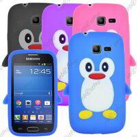 Housse Etui Coque Silicone BLEU Samsung Galaxy Core Plus G3500 ...