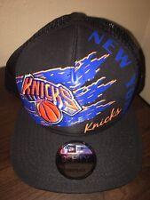 separation shoes 9bfaf 3aa4e New York Knicks NBA New Era Retro Snapback Swipe Paint Hat, BRAND NEW, OSFA