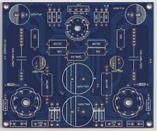 Class A Tube SE EL34 / 6L6 / 6P6 / KT88 Amplifier Stereo PCB 12AX7/6N11 input