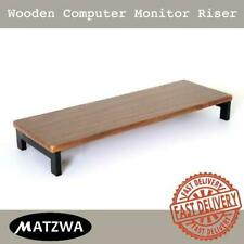 Desktop Computer Monitor Riser Stand USB hubs Office Workspace Storage Extension