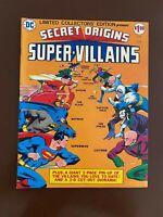 DC Secret Origins Super Villains C-39 VF/NM (9.0) White Pages