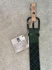 Brand New Bill Adler Vintage Leather Belt Size 34