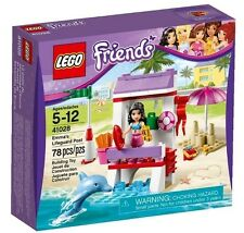Lego Friends 41028 EMMA'S LIFEGUARD POST Dolphin Beach Xmas Gift Present NISB