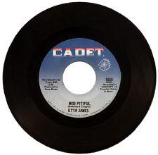 "ETTA JAMES  ""MISS PITIFUL c/w BOBBY IS HIS NAME   R&B / POPCORN   LISTEN!"