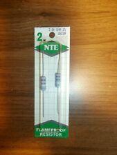Pack of 6 1//2W NTE Electronics HW339 Metal Film Flameproof Resistor Inc. 2/% Tolerance Axial Lead 39K Ohm