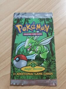 EMPTY Scyther Jungle Booster Pack