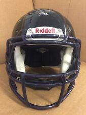 USED RIDDELL SPEED ADULT FOOTBALL HELMET - MEDIUM -  BLACK