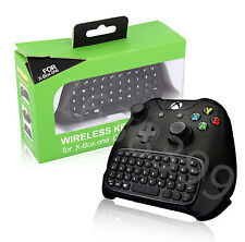 Black New Mini Wireless Message 2.4G Keyboard Chatpad For Xbox One Controller