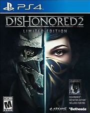 Dishonored 2: Limited Edition (Sony PlayStation 4, 2016)