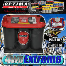 OPTIMA 25 RED TOP BATTERY 12 VOLT NEW AGM 720CCA HOLDEN COMMODORE VS VR VP VN VL