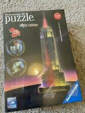 Brand New Ravensberger 3D puzzle Empire State Building - Night Edition, 216